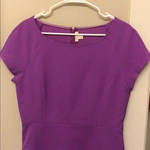 NWOT Purple J. Crew Shift Dress
